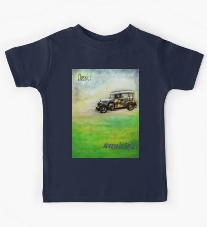 Classic ( in colors with transparency ) Kids Tee