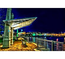 Date Night- Piers Park,East Boston Photographic Print