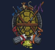 Turtle Family Crest - Full Color by DJKopet