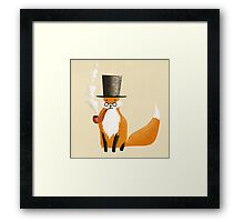 Fancy Fox Framed Print