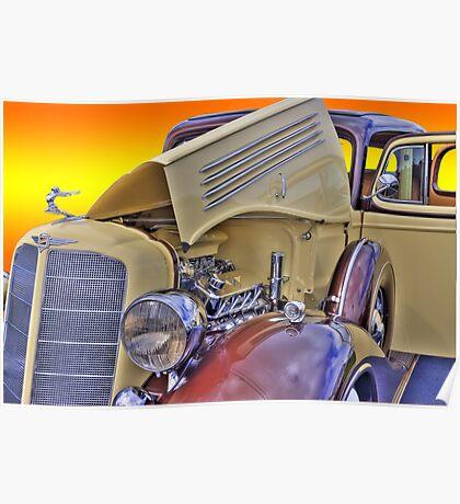 Classic Buick - Sunburst Poster