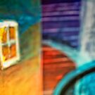 Window and Shapes by susan stone