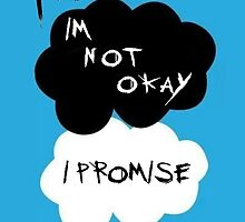 MCR I'm not okay I Promise, The Fault in Our Stars logo. by AngelaWho