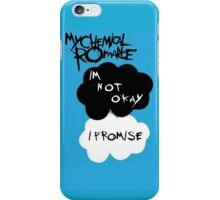 MCR I'm not okay I Promise, The Fault in Our Stars logo. iPhone Case/Skin
