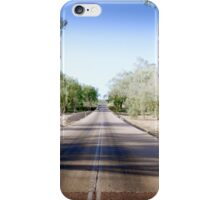 The Road to back of Beyond iPhone Case/Skin