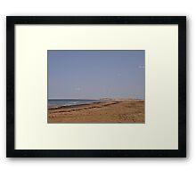 Desolate Beach - Brackley Beach, PEI Canada  Framed Print