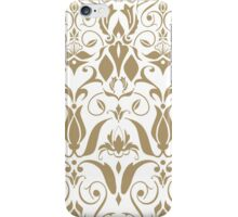 White Baroque  iPhone Case/Skin
