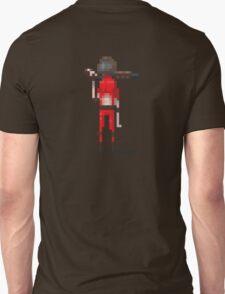 Red doomguy pixelart tribute  T-Shirt