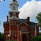 """Historic Georgia Courthouse"" by franticflagwave"