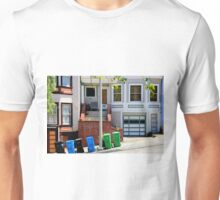 That Gray Plastic Chair - Garbage Day Unisex T-Shirt