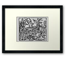 King Overthrown  Framed Print