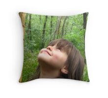 Wisdom of Youth Throw Pillow