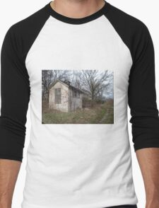 Old Out Building Men's Baseball ¾ T-Shirt