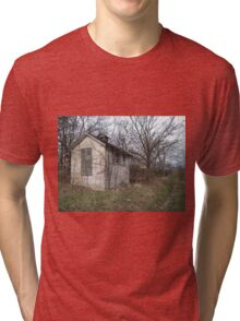 Old Out Building Tri-blend T-Shirt
