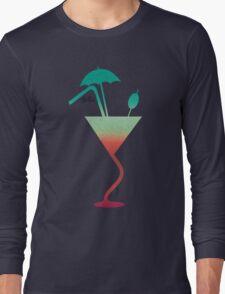 Summer fantazy cocktail Long Sleeve T-Shirt