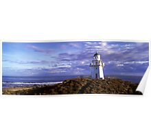 Waipapa Point lighthouse Southland Poster