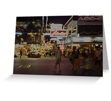 Patong Nights Greeting Card