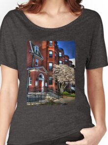 Streets of Boston Women's Relaxed Fit T-Shirt