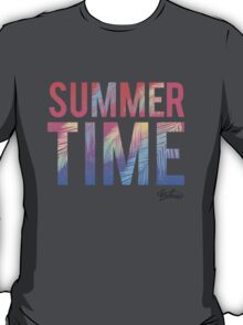 Summer time typography T-Shirt