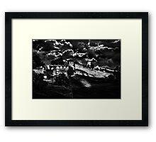 Mystical Fortress Kalemegdan Belgrade Framed Print