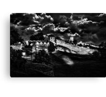 Mystical Fortress Kalemegdan Belgrade Canvas Print