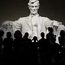 Lincoln Memorial at Night by Kimberly Johnson