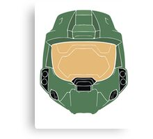 Stencilled Master Chief Canvas Print