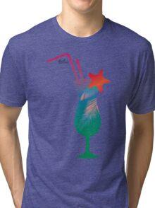 Summer caribbean cocktail Tri-blend T-Shirt