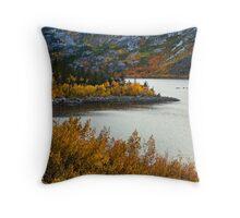 Lake Sabrina Fall Throw Pillow
