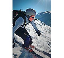 New Zealand Skiing Photographic Print
