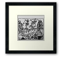 Dance of Death 6 Framed Print