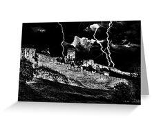 Mystical Fortress Kalemegdan Belgrade Greeting Card