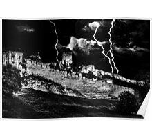 Mystical Fortress Kalemegdan Belgrade Poster