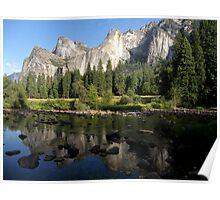 Cathedral Rocks ~ Yosemite National Park, California Poster