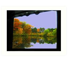 Mirror (Water reflection VII)!... Art Print