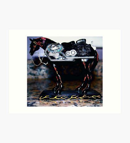 Mustang Sally Art Print
