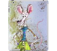 Salty The Sailor Rat iPad Case/Skin