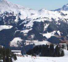 Austrian Alps. Sticker