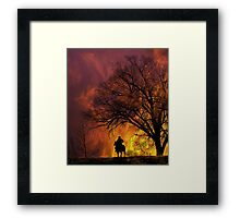 3891 Framed Print