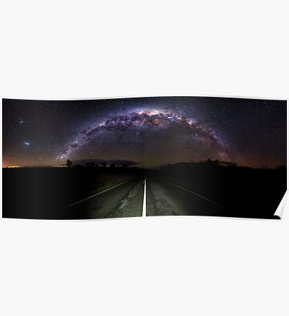 The Milky Highway  Poster