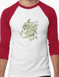 FlyGirl Men's Baseball ¾ T-Shirt