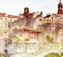Lucignano, Toscany, Italy Sticker