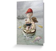 Catch of the Day Greeting Card