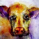 Mooooooooody Cow by Angela  Burman
