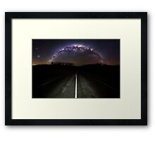 The Milky Highway 3:2 Framed Print