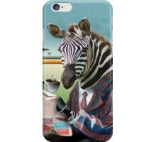 Zebra Morning iPhone Case/Skin