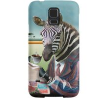 Zebra Morning Samsung Galaxy Case/Skin