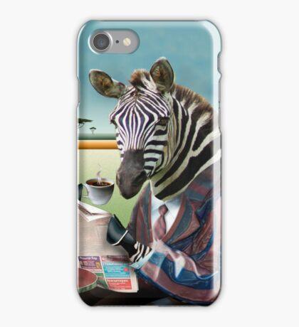 Zebra Morning iPhone Case/Skin