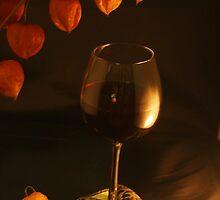 Well-dressed Wine by Barbara  Brown