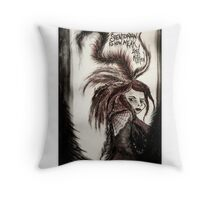 Stentorian Voice - Fiona Apple Throw Pillow